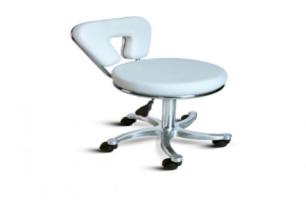 Therapist Stool with back