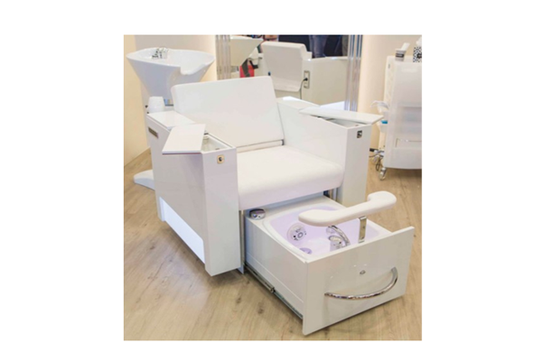 Multifunctional Evavo Chair with wash basin